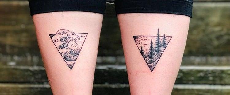 Calf Tattoos For Women