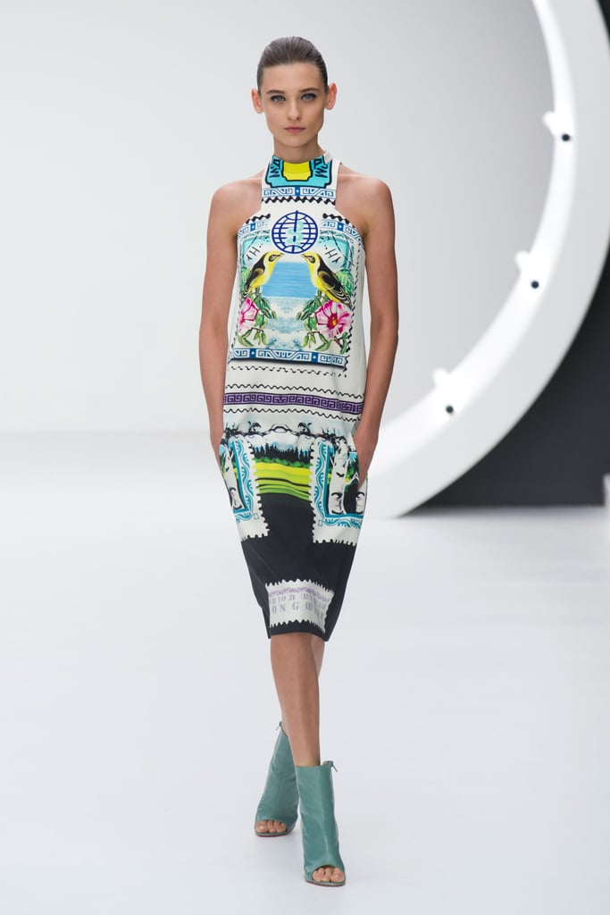 Mary Katrantzou Postage Stamp Prints