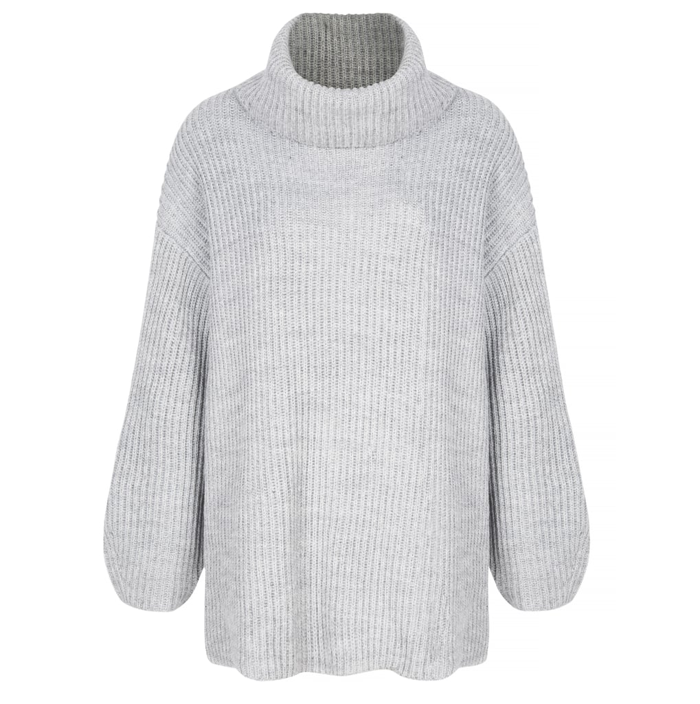 Topshop Wool Mix Roll Neck Jumper