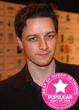 Best of 2008: James McAvoy is PopUK's Favourite British Male