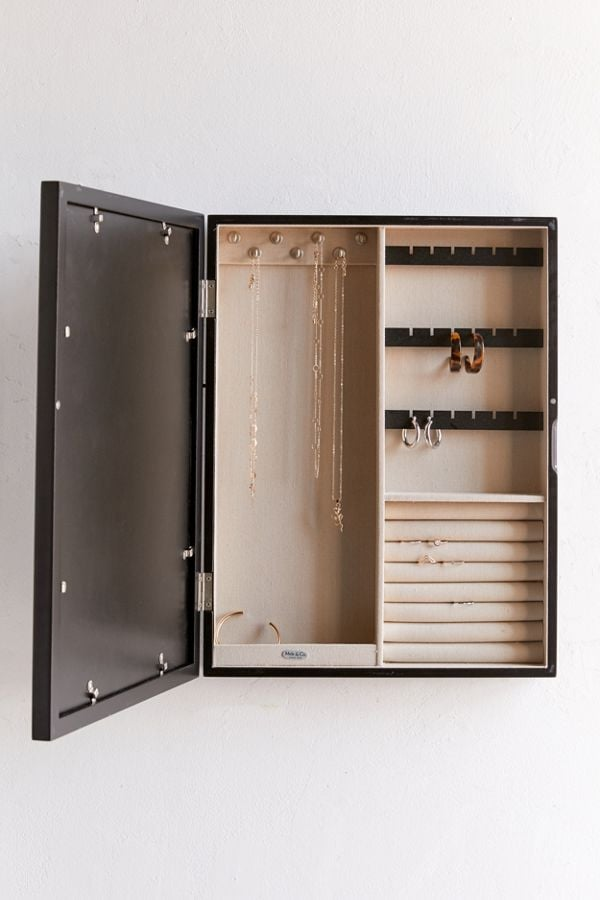 Mele Co Leighton Picture Frame Jewelry Box Best Organizers 2019