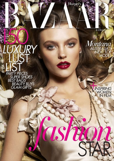 Pictures of Australia's Next Top Model Winner Montana Cox's Harper's Bazaar December Cover and Best Shots