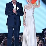 Taylor Swift presented at the Aria Awards in Sydney.