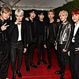 BTS at the American Music Awards 2017