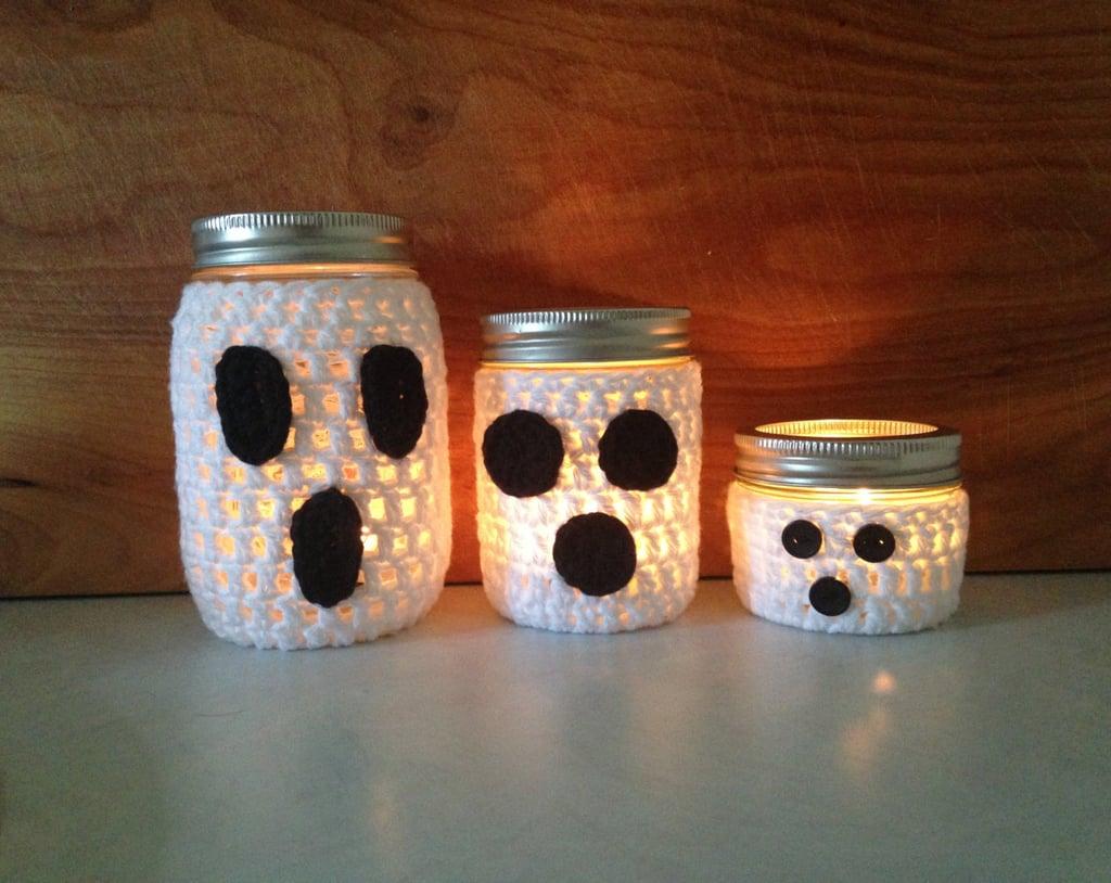 mason jar halloween diy projects popsugar home - Halloween Diy Crafts