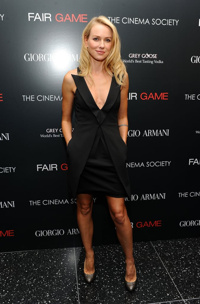 Pictures of Naomi Watts and Liev Schreiber at the Fair Game Screening in NYC 2010-10-07 17:30:00