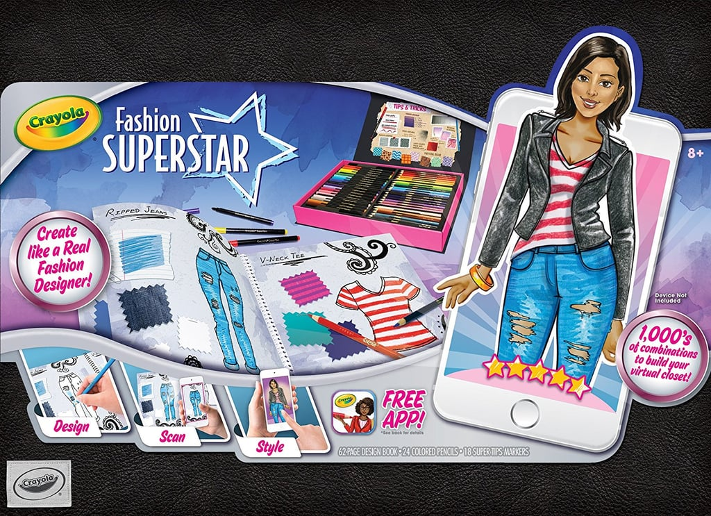 Crayola Fashion Superstar, Coloring Book and App