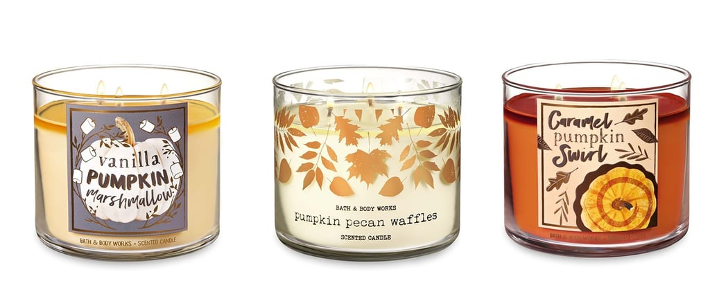Pumpkin Bath and Body Works Candles
