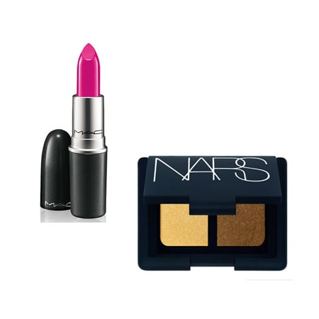MAC Lipstick in Girl About Town, $35 Stockists: MAC CosmeticsNARS Eyeshadow Duo in Star Sailor, $78 Stockists: Mecca Cosmetica