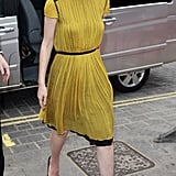 Carey Mulligan in Proenza Schouler — yet another ladylike hit.