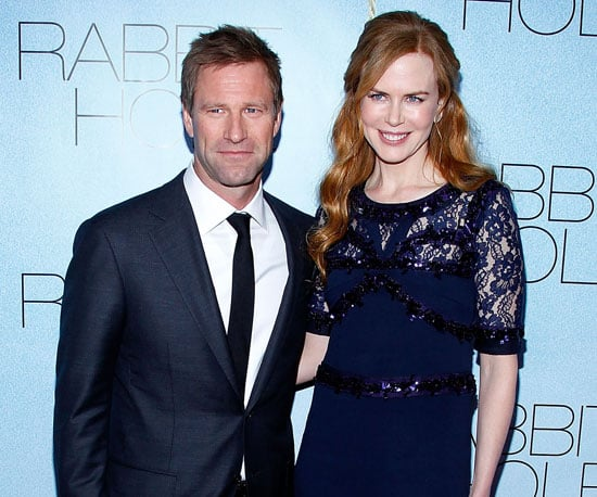 Slide Picture of Nicole Kidman and Aaron Eckhart at Rabbit Hole Premiere