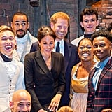 August: When Meghan and Harry Blessed the Cast of Hamilton With Their Presence