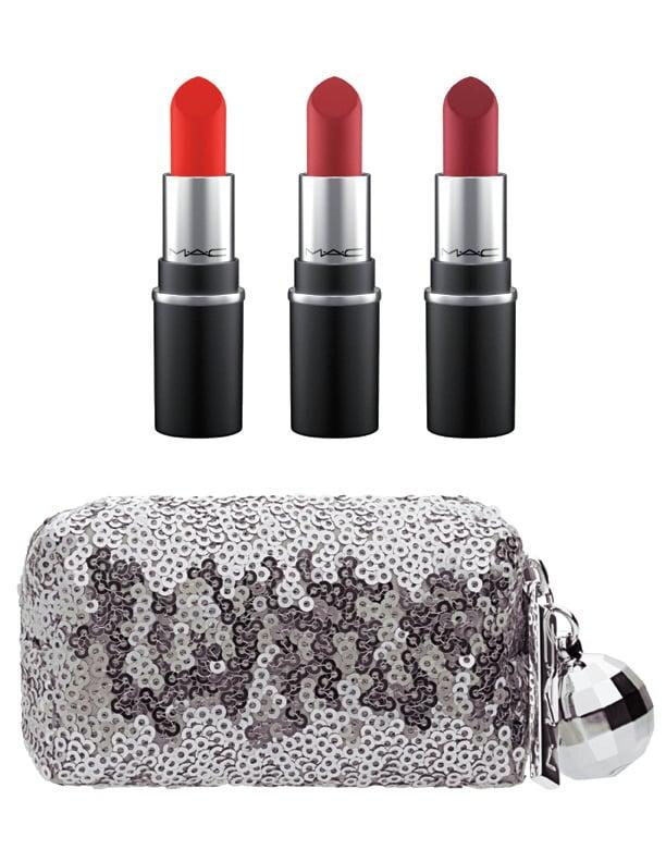 MAC Snow Ball Mini Lipstick Kit in Rose