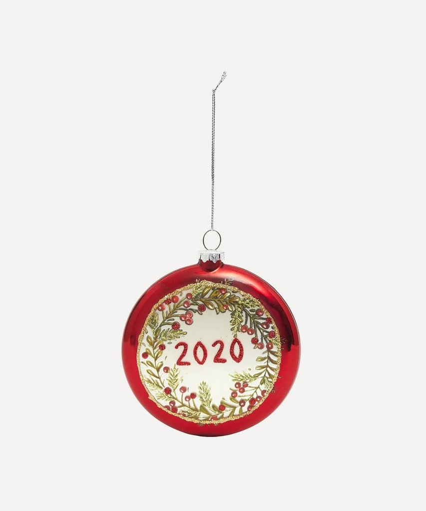 Liberty London Holly Wreath 2020 Bauble