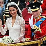 Kate Gifted William With Paper For Their 1-Year Anniversary