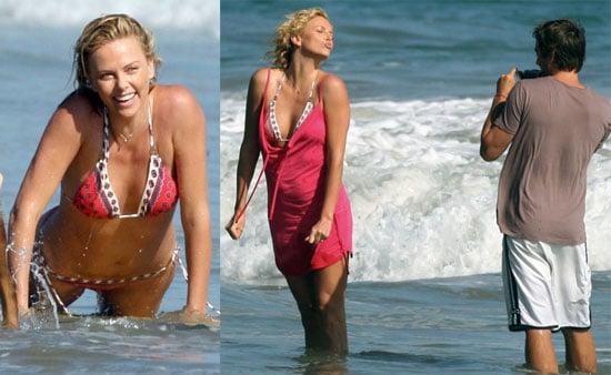 Charlize Theron Bikini Photos
