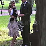 Photos of Gisele and Baby