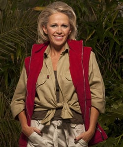 Lucy Benjamin Is the First Contestant Voted Off I'm a Celebrity Get Me Out of Here