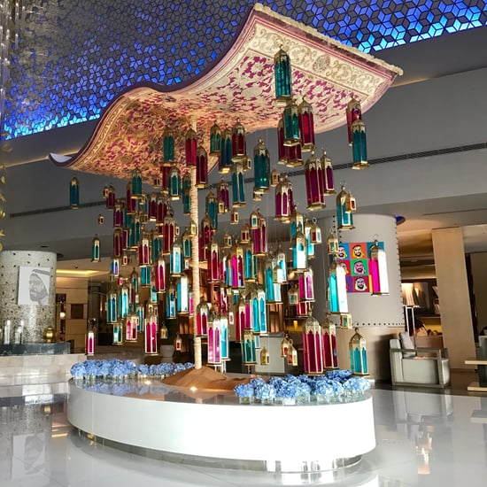 Fairmont Dubai Magic Carpet Ramadan Decorations