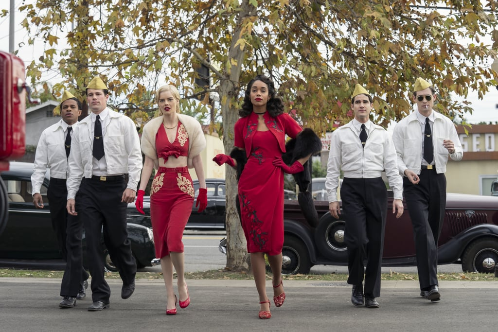 Hollywood Netflix TV Series Fashion and Style