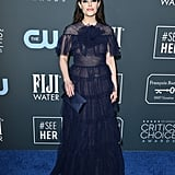 Emily Hampshire at the 2020 Critics' Choice Awards