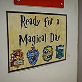 Third-Grade Teacher Creates Harry Potter Classroom