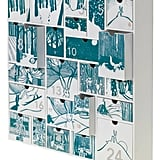 Accent Decor Story Wood Advent Calendar