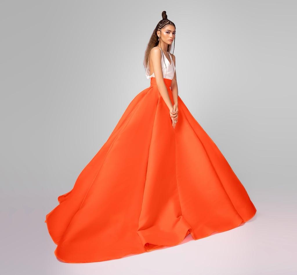 Zendaya's Valentino Skirt at the 2021 Critics' Choice Awards