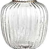 Clear Glass Vase ($18)