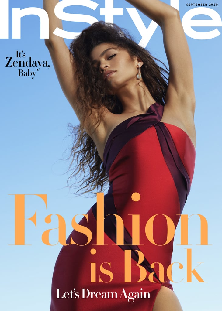 Zendaya Wears Black Designers For Her InStyle Cover Shoot