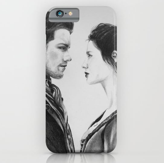 Jamie and Claire iPhone Case ($35)
