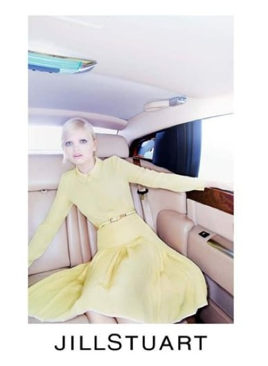 Ladylike canary yellows dominate in the Jill Stuart Spring campaign. Source: Fashion Gone Rogue