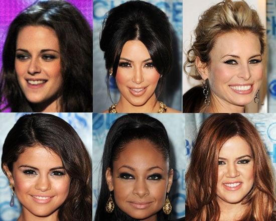 Kristen Stewart, Kim Kardashian Makeup