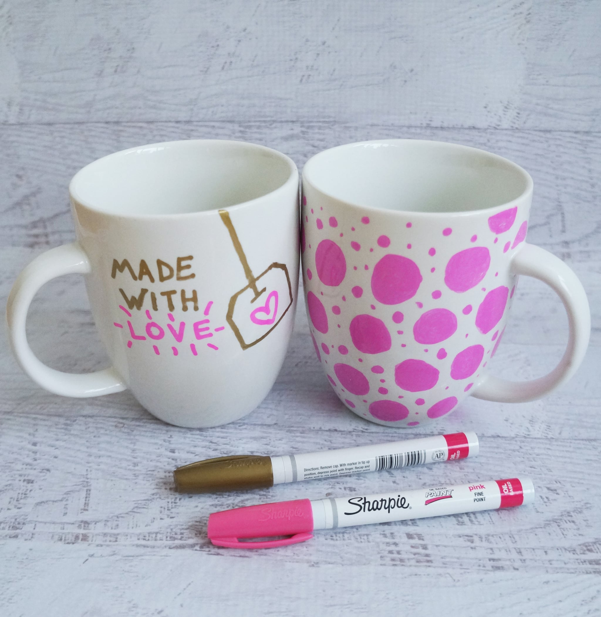 Sharpie Mug DIY Project POPSUGAR Smart Living