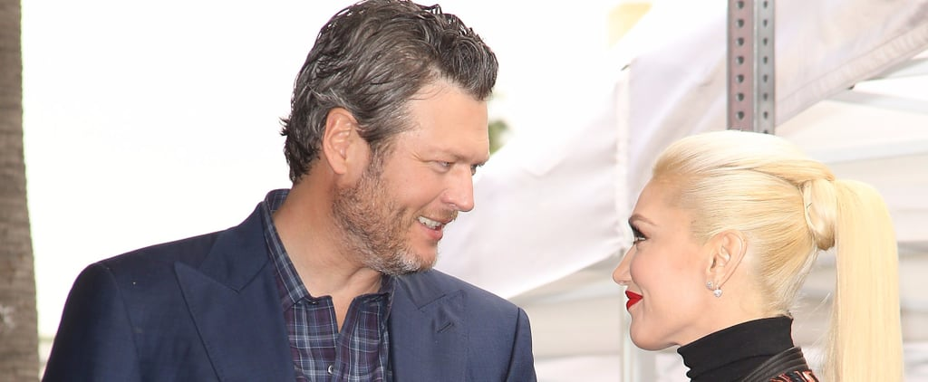 Gwen Stefani and Blake Shelton Share Loving Glances at Adam Levine's Hollywood Walk of Fame