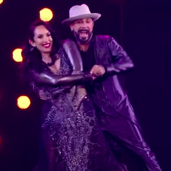 AJ McLean Dedicates DWTS Performance to His Wife Rochelle