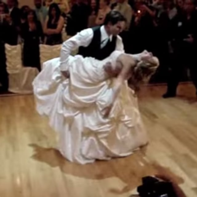 Scott McGillivrays Wedding Dance Video
