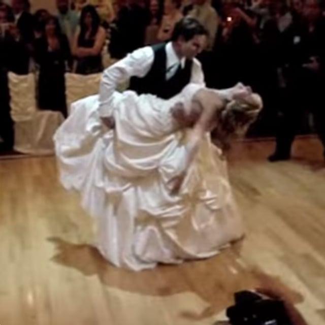 Scott McGillivrays Wedding Dance Video