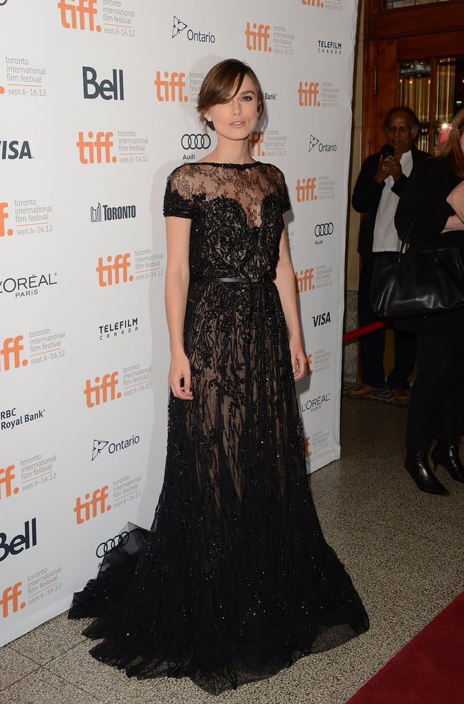 Keira Knightley at the 2012 Toronto Film Festival