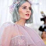 Lucy Boynton's Chandelier-Inspired Eye Makeup, 2019