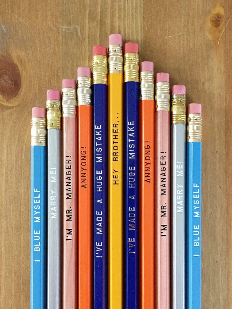 Arrested Development Pencil Set ($12)