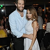 Nicole Richie posed for a photo with Geoff Stults.