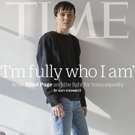"Elliot Page Covers TIME: ""I'm Fully Who I Am"""