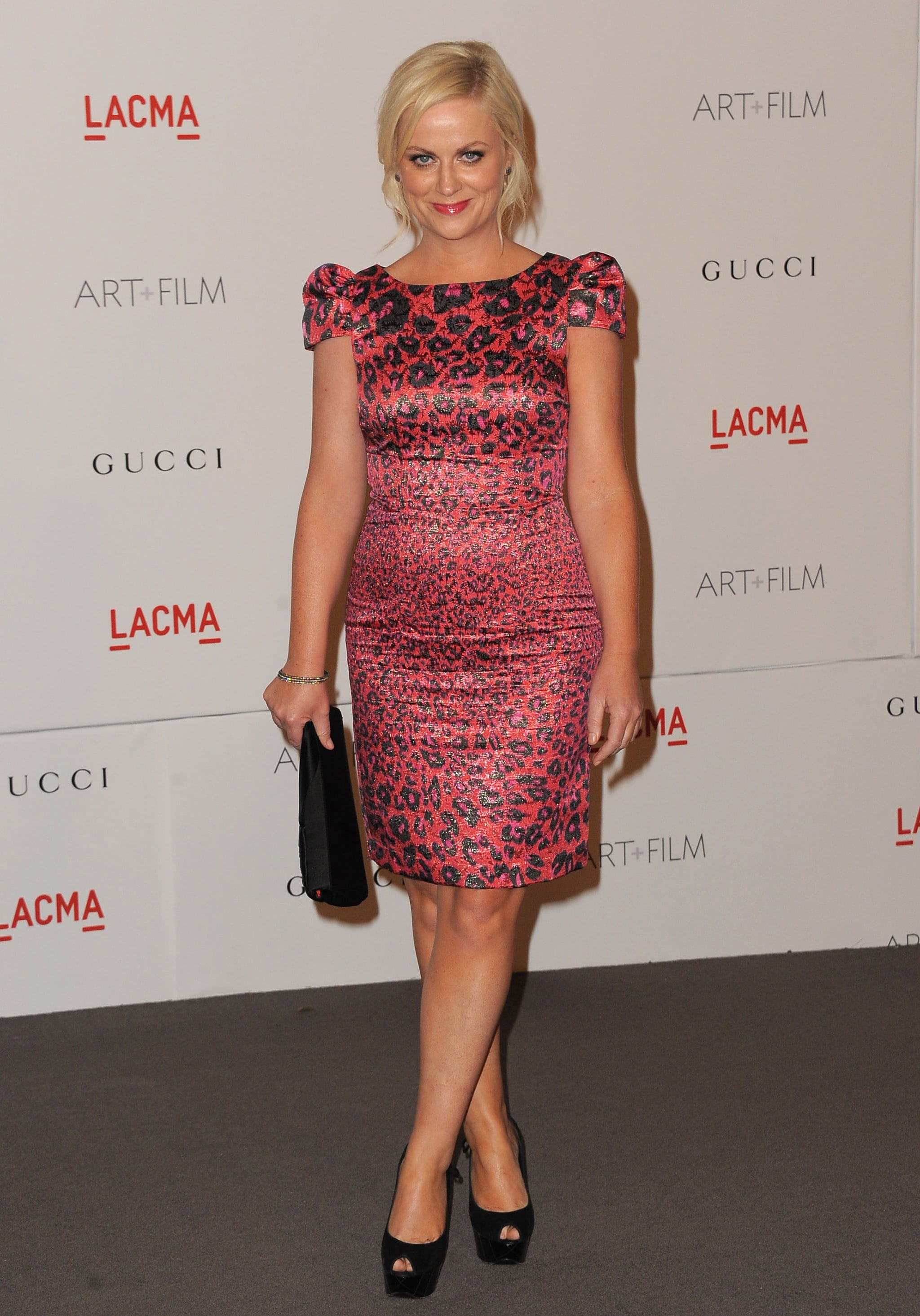 Amy Poehler at a LACMA bash.