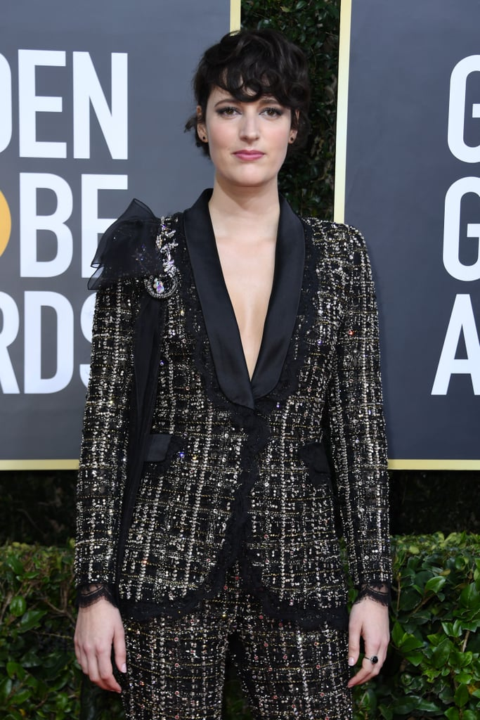 Phoebe Waller-Bridge at the 2020 Golden Globes