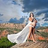 Surprise Rainbow Baby Maternity Shoot