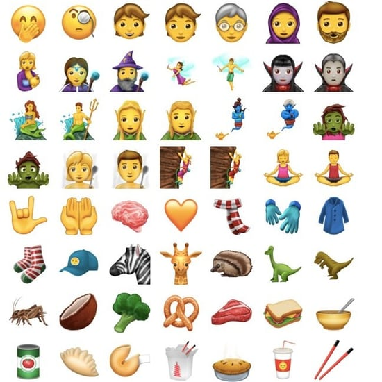 New Emoji 2017