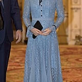 Kate in Temperley, October 2017