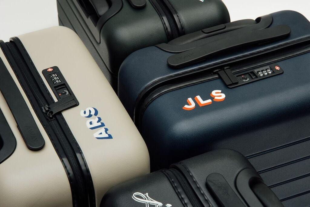 Away Luggage With Monogram