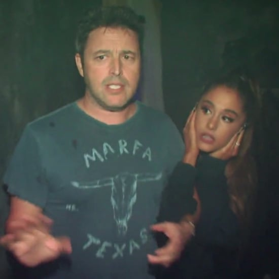 Ariana Grande in Haunted House on The Ellen Show 2016